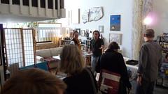 Javier Manrique's studio