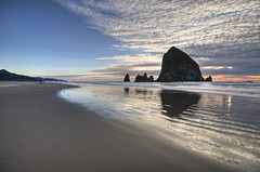 cannon beach (richietown) Tags: topv111 oregon canon cannonbeach hdr 30d 3xp photomatix 3exp richietown