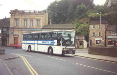 SPRATTS Vanhool (PerkinsPower) Tags: man west bus coach yorkshire holmfirth vanhool daf spratts alicron