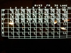 Bowling..my Fab Score! (see the H)