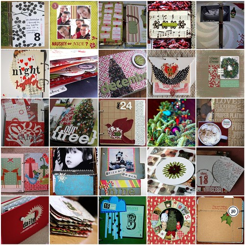 December Daily 08 mosaic
