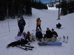 Tired Gang (Doug&Julia) Tags: snowskiing