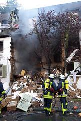 Wohnhausexplosion Hattersheim 29.10.09