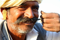 The great Indian moustache (... Arjun) Tags: travel portrait 15fav india rural 510fav sketch asia indian great picture moustache study photograph turban mustache f56 tribe pushkar 2009 description representation rajasthan portrayal likeness 67mm depiction rajput iso125 canonef24105mmf4l