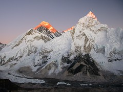 Sunset on Everest (Oleg Bartunov) Tags: flickraward