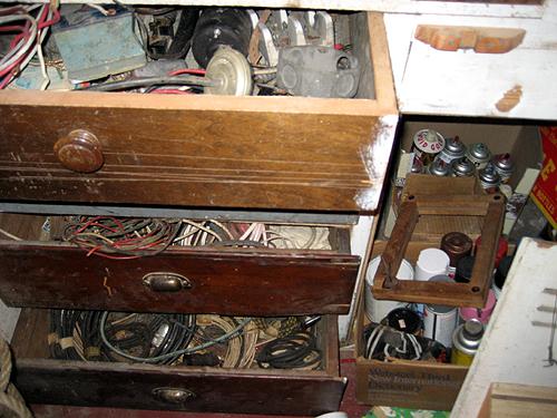 Junk drawers