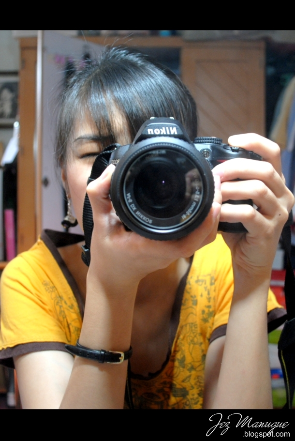 SLR mirror shot