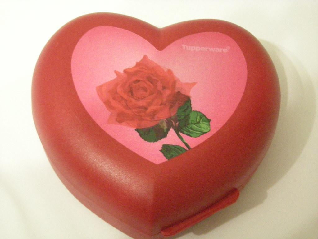Bento cuore con rosa