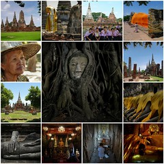 My best of Ayutthaya - Thailand (Bn) Tags: thailand fdsflickrtoys topf50 buddha enlightenment goldenbuddha 50faves thailandimages abigfave bestofthailand bestofautthaya