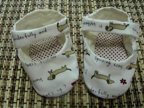 第三雙手作鞋-Mark的女兒