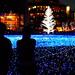 闇夜の青灯