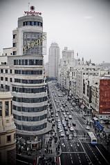 Gran Va (Xos Castro) Tags: madrid espaa buildings spain arquitectura edificios schweppes granva callao nen