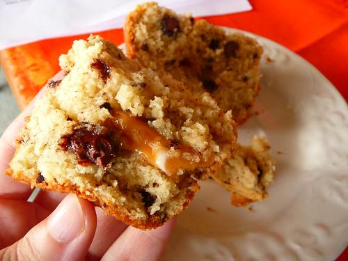 Caramel Surprise Muffins