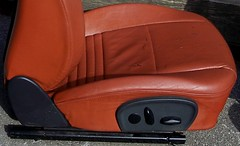 99PorscheCoupe6 (truckandcarseats) Tags: red leather 1999 porsche boxster coupe fronts