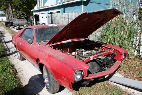 AMC AMX Barn Find