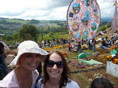 Maree and Me at the Day of the Dead Festival.