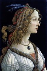 Ideal portrait of a Young Lady, Sandro Botticelli. Frankfurt, Stdelsches Kunstinstitut (renzodionigi) Tags: portrait sculpture painting design ritratto art italian fine italiana arte