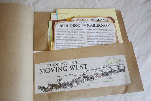 moving west history  pocket inside