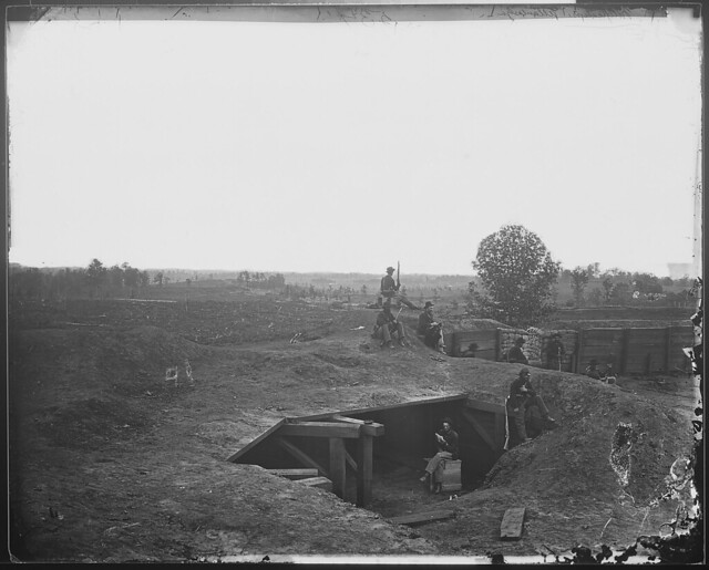 RR two miles southwest of Atlanta Federal Fort 7 by The US National Archives