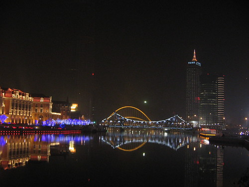 Tianjin at Night, North