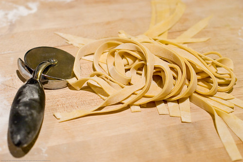 Homemade White Flour Pasta