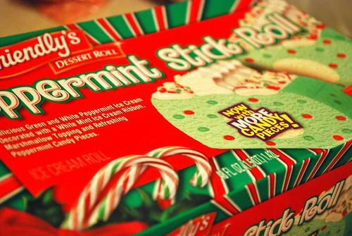 Peppermint Stick Roll