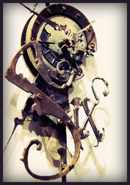 Mechanical Clock  6- by Eric Freitas