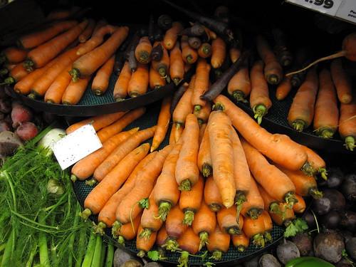 Adult Carrots at Seward Coop