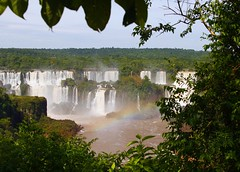 Igazu falls - Brazil (@Doug88888) Tags: world pictures trip travel pink blue trees red wallpaper brazil vacation orange brown white holiday plant green fall nature water argentina rain yellow digital america forest canon eos photo leaf rainbow rainforest paradise purple image many miracle south border creative picture commons images falls seven buy basil dslr purchase wonders igazu 400d doug88888