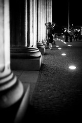 (patrickjoust) Tags: street city light urban bw woman white black berlin blancoynegro night digital 35mm canon germany dark deutschland eos 50mm lights nikon focus gate europa europe nacht patrick full adapter frame 5d after column manual tor nikkor 50 joust 35 brandenburger brandenburg ai biancoenero sensor surrender f12 blancetnoir schwarzundweiss 50mmf12ai thedefiningtouch patrickjoust deftouch