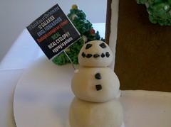 "Snow ""Frank Chu"" Man (sir chalky) Tags: holidays gingerbread frankchu 12galaxies"