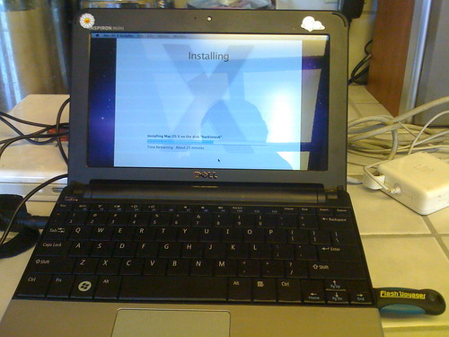 hackintoshing Dell mini 10V