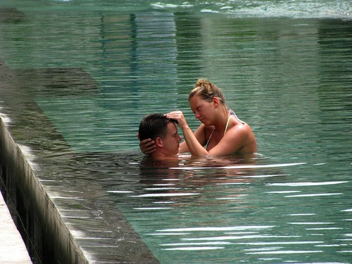 Love In The Swimming Pool