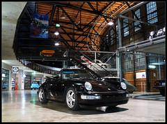 Porsche 964 Cabrio (Chris Wevers) Tags: germany deutschland 911 panasonic porsche nrw dusseldorf dsseldorf cabrio duesseldorf nordrheinwestfalen dmc 964 meilenwerk fz50 northrhinewestphalia chriswevers