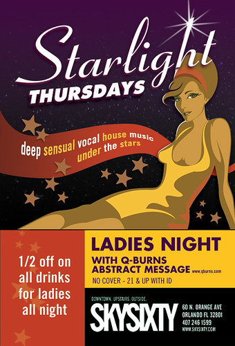 Starlight: Every Thursday at SkySixty in Downtown Orlando