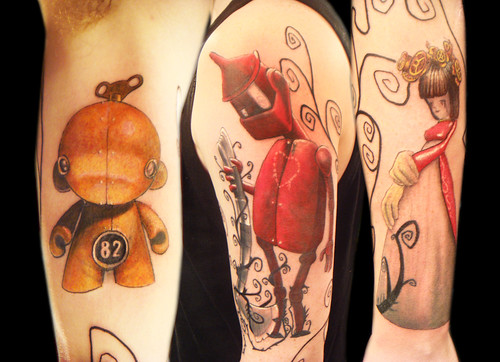 Cute Robots Tattoos Robot Tattoo