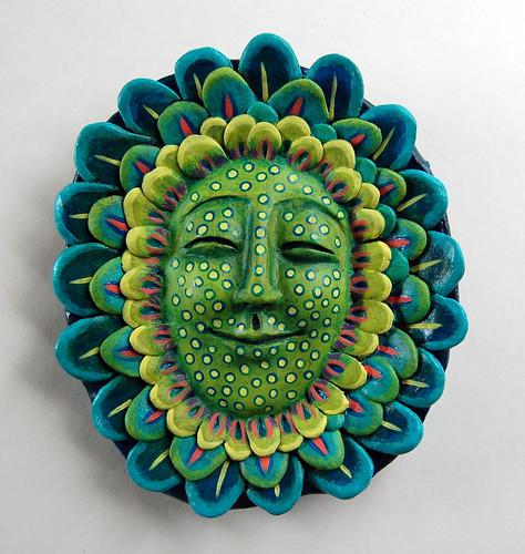 Faces in the Garden II by livingstonestudio