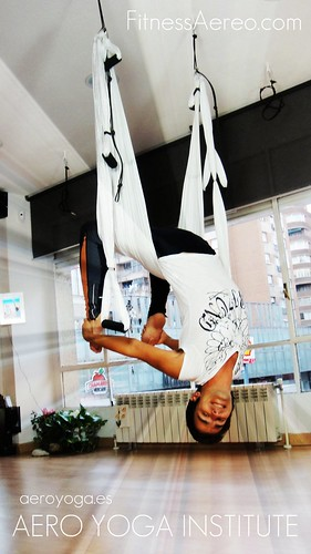 Anti Gravity Yoga (PIlates Aéreo) en España: Madrdi y Palma de Mallorca