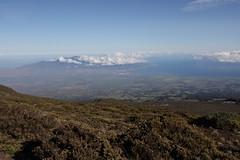 View of Central Maui (Dan Stanyer (Northern Pixel)) Tags: morning cold beautiful beauty sunrise spectacular landscape island hawaii lava view scenic maui lookout trail haleakala crater hawaiian haleakalanationalpark leleiwi