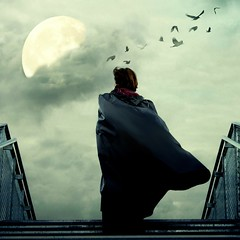 Moon Poetry ... (globalrain (on holiday)) Tags: digitalart poetic cape raincoat photoart dortmund blickrichtung atmospheric visualart rainwear komposition westfalen photodesign thema texturing photogallery moonlighting zitat exceptional gpc klepper firstquality 30000views aporia adifferentpointofview phoenixwest ignisart uniquecreations 6000v240f specialpicture bratanesque world100f empyreanart lesamisdupetitprince phvalue globalrain thetruthgallery imagesforthelittleprince thecubeexcellencygallery visionqualitygroup worldsartgallery oracosm oracoop visionquality10000 trollieexcellence magiayfotografia specialartisticphotography inspiredchoice phoeniximmortal lightartmasterpiece yahoo:yourpictures=weather yahoo:yourpictures=nature