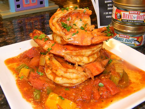 Beck's Creole Shrimp