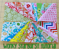 wonky starburst tutorial
