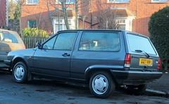 G127 VKM (Nivek.Old.Gold) Tags: 1990 volkswagen polo fox 3door 1043cc