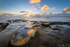 Potholes in the surf (ihikesandiego) Tags: hospital reef la jolla san diego sunset