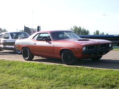 1973 Plymouth Barracuda (blondygirl) Tags: auto cruise car plymouth autoshow mopar burnout custom barracuda 1973 carshow sprucegrove august15 plymouthbarracuda showshine burnoutcompetition cruisersofthepast grovecruise 408stroker sprucegrovecruise sprucegrovecarshow grovecruisecarshow