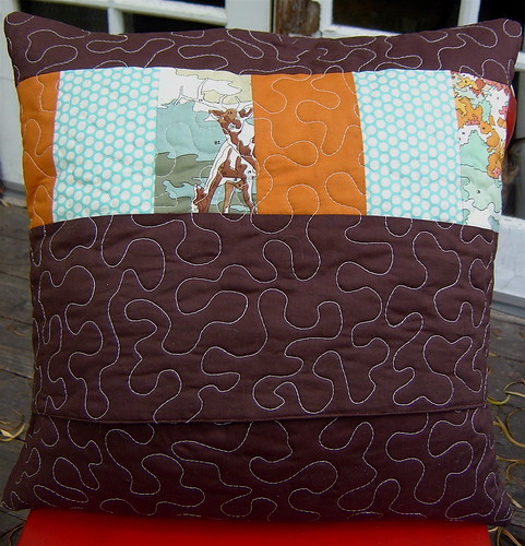 Fall Pillow back