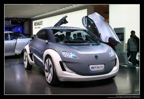 2009 Peugeot Bb1 Concept. 2009 Renault Zoe Z.E. Concept