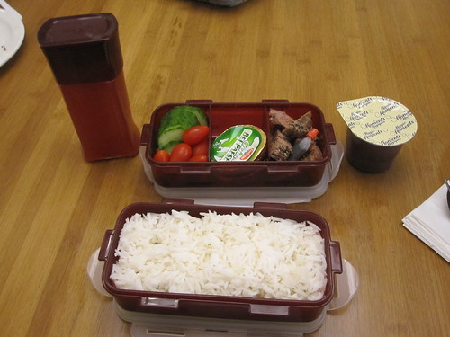 My bento lunch from home