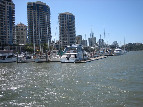 Dockside Marina in Brisbane