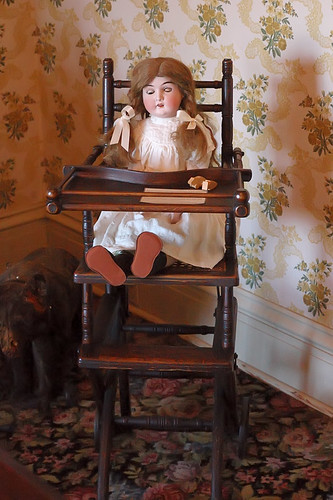 Chatillon - DeMenil House, in Saint Louis, Missouri, USA -  doll